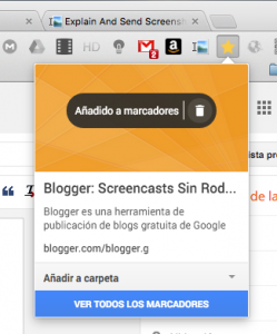 marcadores google chrome