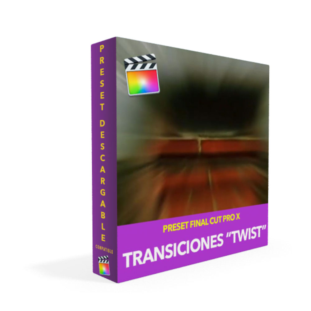 Transiciones Twist Para Final Cut Pro X