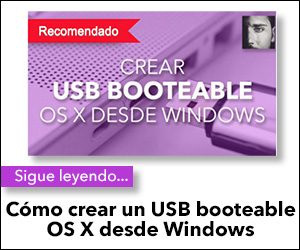 crear usb booteable osx desde windows
